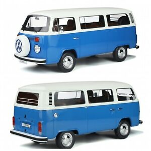 1/12 Ottomobile Volkswagen Kombi Bus T2 Clear Blue 1978 New Free Shipping Home