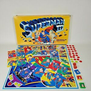 SUPERMAN III Board Game 1982 Parker Brothers #0141 *READ