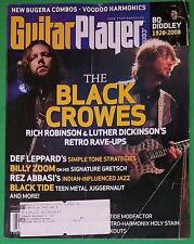 Guitar Player August 2008 The Black Crowes Def Leppard James Nash Yoav