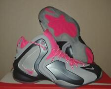 New Nike Lil' Penny Posite Foamposite One 1 Grey Pink Basketball Shoes Size 10.5