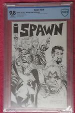 Spawn #279 walking dead B&W cover swipe variant Cbcs 9.8