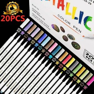 Water Based Acrylic Paint Pens Rock Painting Art Markers For All Surface 20 Set