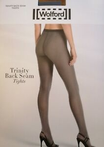 Wolford Trinity Back Seam tights