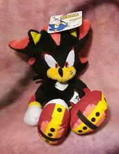 "Sonic the Hedgehog - ""Shadow"" Plush Stuffed Animal Toy - Jazwares NEW WITH TAGS"
