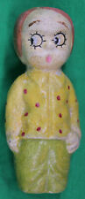 Original Vintage Frozen Charlie Paper Mache Doll
