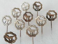 Lot de 10 insignes boutonnière 1940 1° RCA REGIMENT CHASSEURS D'AFRIQUE ORIGINAL