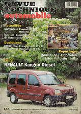 RTA revue technique l'expert automobile n ° 610 RENAULT KANGOO DIESEL