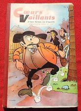 COEURS VAILLANTS Album éditeur n°2 (n°3 à 14 de 1958). TBE