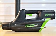 Greenworks GBL80300 80V Pro Jet Leaf Blower + User manual **TOOL ONLY**