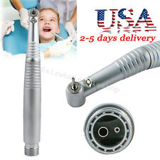 USA Seller High Speed LED Handpiece Standard Push Button 2 holes 3 Water Spray