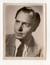 Paul Klinger 1951 Greiling Film Star Series E Cigarette Card #12