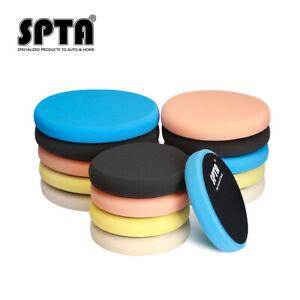 SPTA 5-7'' Car Foam Buffing Pads Polishing Pads For Rotary Car Auto Polisher