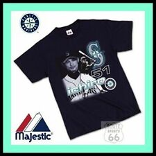 YOUNG ICHIRO SUZUKI SEATTLE MARINERS BASEBALL SHIRT MENS XL CLASSIC NEW