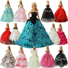 ZITA ELEMENT Lot 5 Handmade Fashion Party Dress Outfit for Barbie Clothes XMAS G
