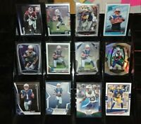 Patriots RC Prizm Optic rookie lot N'Keal Harry Damien Harris Sony Michel