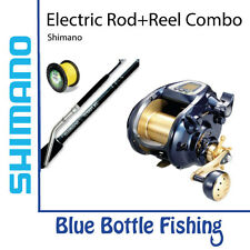 Shimano Electric Reel BeastMaster 9000 + Shimano Revolution Bent Butt + Spool...