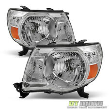 2005-2011 Toyota Tacoma Headlights Headlamps 05-11 Left+Right Aftermarket Lights