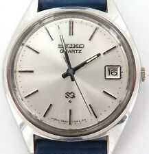 VINTAGE SEIKO SQ QUARTZ DATE 7545-7030 MENS WATCH.