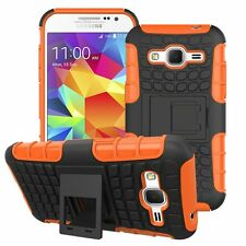 Proof Hard Case Heavy Duty Survivor Tough Shock Cover for Mobile PHONES Tablets Samsung Galaxy S3 Mini I8190 Orange