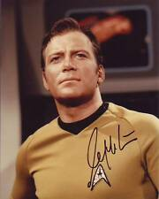 William Shatner Signed Autographed Star Trek Captain Kirk 8x10 Photograph