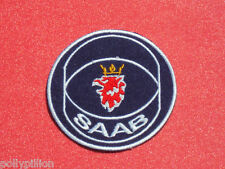 "SAAB TRUCKS BUSES VANS CARS ""GRIFFIN"" SEW/IRON ON PATCH"