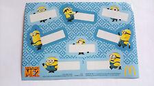 McDonald's Despicable Me 2 - Minions Sticker!