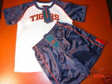 Nwt Detroit Tigers Toddler Set,Baseball Fan 4T Licensed