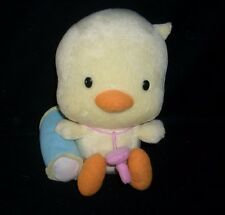 "6"" NISSIN FOOD PRODUCTS CO 2005 BABY YELLOW DUCK STUFFED ANIMAL PLUSH TOY CHINA"