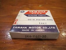 NOS 1978-81 YAMAHA YZ125 YZ 125 3RD OVER .75 PISTON RING 2K6-11611-30-00