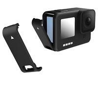 Schwarz Abnehmbarer Batteriefachdeckel Akkuabdeckung für GoPro Hero 9 Kamera