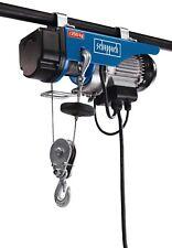 Scheppach HRS250 Palan Electrique avec Crochet de Levage 125/250 Kg