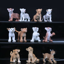 11 Type Baby Animal Model Home Room Ornament Collect Education Toy Gift US