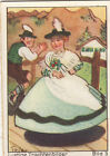N°3 Hat Robe Dress Bavaria Bayern Bavière Funny costumes Germany IMAGE CARD 60s