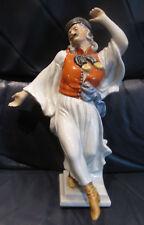 Herend,  Statua in porcellana dipinta a mano.  Ballerino danzante. Ungheria.