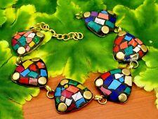 Nepal Fashion Banjara Multi Brass Tibetan Designer Jewelry Bracelet BTB607