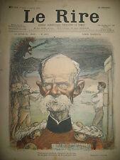 LE RIRE N° 322 CARICATURE LORD ROBERTS DESSINS LEANDRE MONNIER METIVET DELAW1901