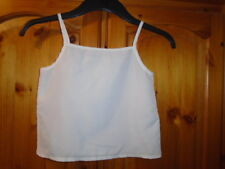Ivory sheer camisole top for wearing underneath another top, DUNNES, 6 years