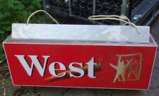 altes Leuchtreklame West Zigaretten