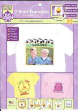 "June Tailor T-SHIRT TRANSFERS For Light Colors 3 Sheets 8.5"" X 11"""