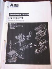 Händlerhandbuch -Service-Anleitung - Mobiltelefon D45-2H/bgl. SIEMENS S1