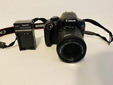 Canon EOS Rebel T6 18.0MP Digital SLR Camera with 18-55 mm lense