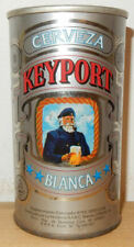 KEYPORT Cerveza Blanca Straight Steel Beer can from ARGENTINA (355ml) empty !!