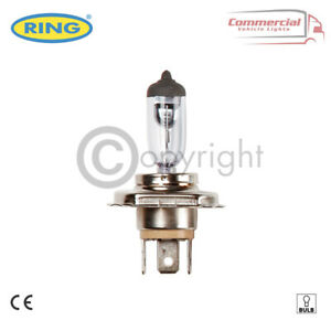 RING R905 6V 60/55W H4 P43T HALOGEN HEADLIGHT BULB FOR MOTORBIKE CAR OR SCOOTER