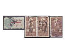 SYRIA DRUZE GOVERNMENT FRENCH OCC. Revenue Stamps Collection