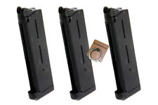 ARMY 27rds Airsoft Toy Gas Magazine For ARMY R30 (1911) Series GBB 3PCS