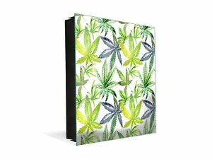 50 Keys Cabinet and Dry Erase Board in ONE K04 Wildflower cannabis