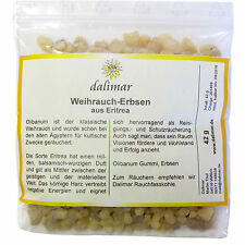 Dalimar Weihrauch-Erbsen aus Eritrea (Olibanum Gummi) 42 g Kirchenqualität