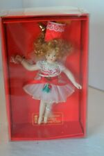 Christmas Ornament Porcelain Fairy Doll Collectors Club in Box #6