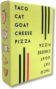 Taco Cat Goat Cheese Pizza Card Game Addictive Hand Slapping Mayhem