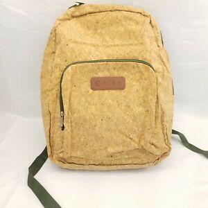 Corko Cork Back Pack School Bag Eco Friendly Sustainable Zip Up Carry On